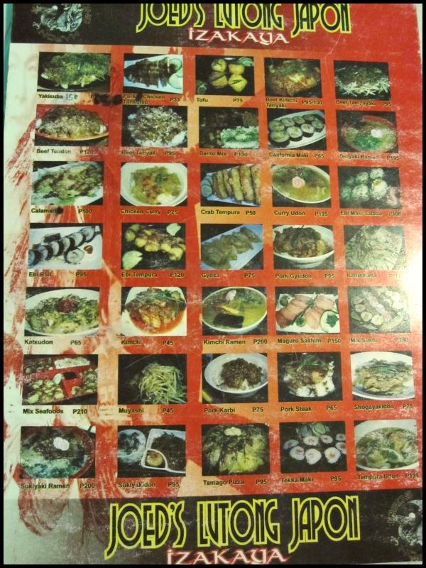 Joed s lutong hapon projectlakwatsa for Asian cuisine grimes ia menu