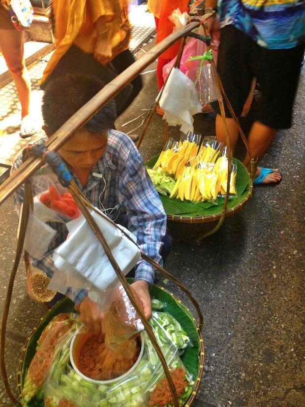 hilaw na mangga bangkok style